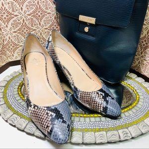 Amazing, trendy Aquatalia chunky heels pumps, 7,5